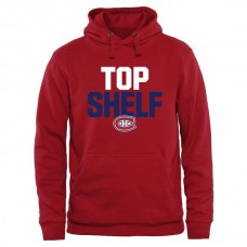 2016 NHL Montreal Canadiens Top Shelf Pullover Hoodie - Red