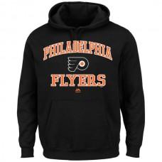 2016 NHL Philadelphia Flyers Majestic Heart  Soul Hoodie - Black
