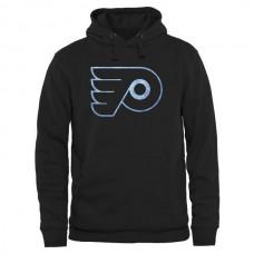 2016 NHL Philadelphia Flyers Rinkside Pond Hockey Pullover Hoodie - Black