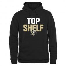 2016 NHL Pittsburgh Penguins Top Shelf Pullover Hoodie - Black