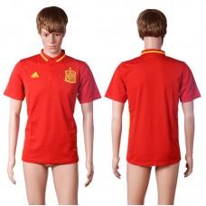 2016 Spani red polo shirt AAA+ soccer jerseys