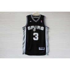 Adidas San Antonio Spurs 3 Marco Belinelli New Revolution 30 Swingman Home black Jersey