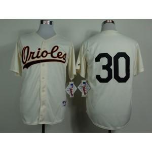 MLB Baltimore Orioles 30 Tillman Gream 1954 Turn The Clock Jersey