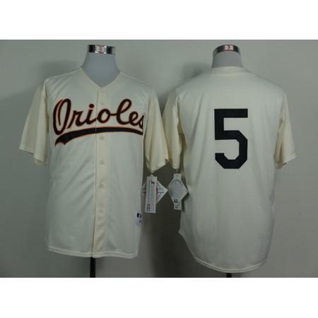 MLB Baltimore Orioles 5 Brobinson Gream 1954 Turn The Clock Jersey